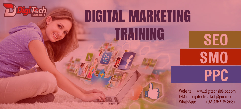 Online Digital Marketing Training Pakistan | Business Training Sialkot